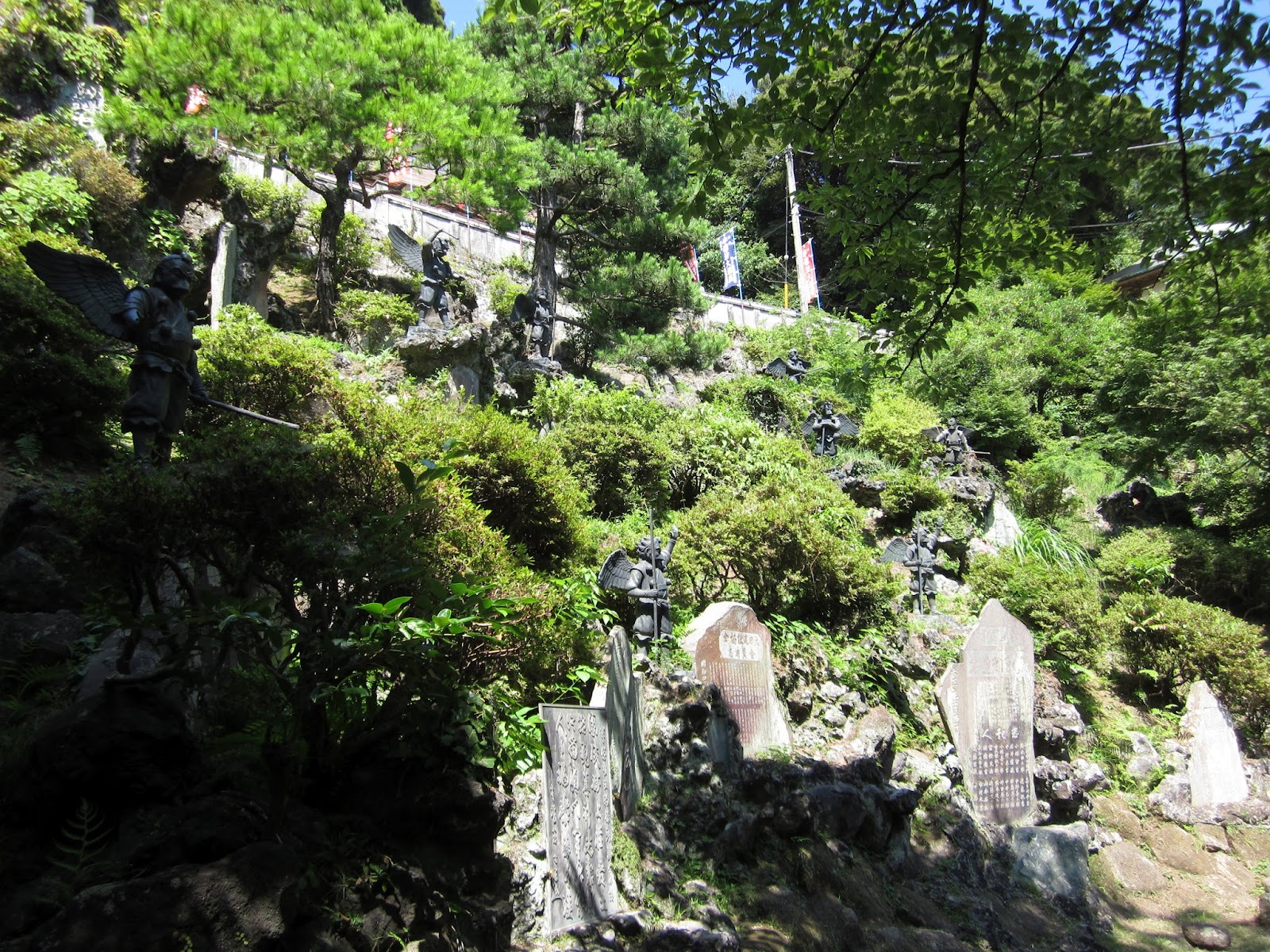 The japan chronicles crows in japan menace or guide of the gods here is a large statue of a crow tengu flanking the steps to the shrine along with the yamabushi tengu i showed earlier biocorpaavc