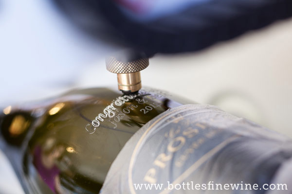 rhode island wine bottle etching engraving