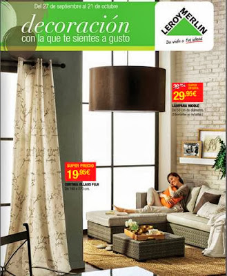 Catalogo leroy merlin decoracion del hogar oto o 2013 - Cortinas leroy merlin catalogo ...