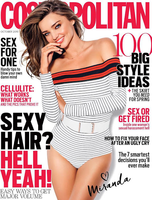 Fashion Model @ Miranda Kerr by Russell James for Cosmopolitan Australia, October 2015