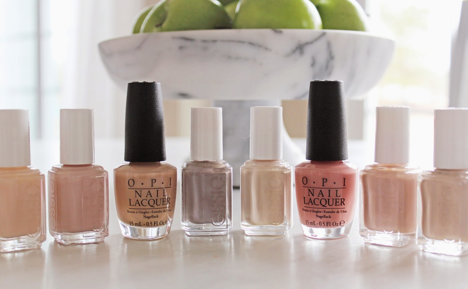 Essie, OPI, Nude Nailpolish, Best