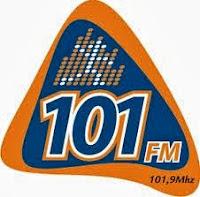 ouvir a Rádio 101 FM ao vivo e online Lages SC