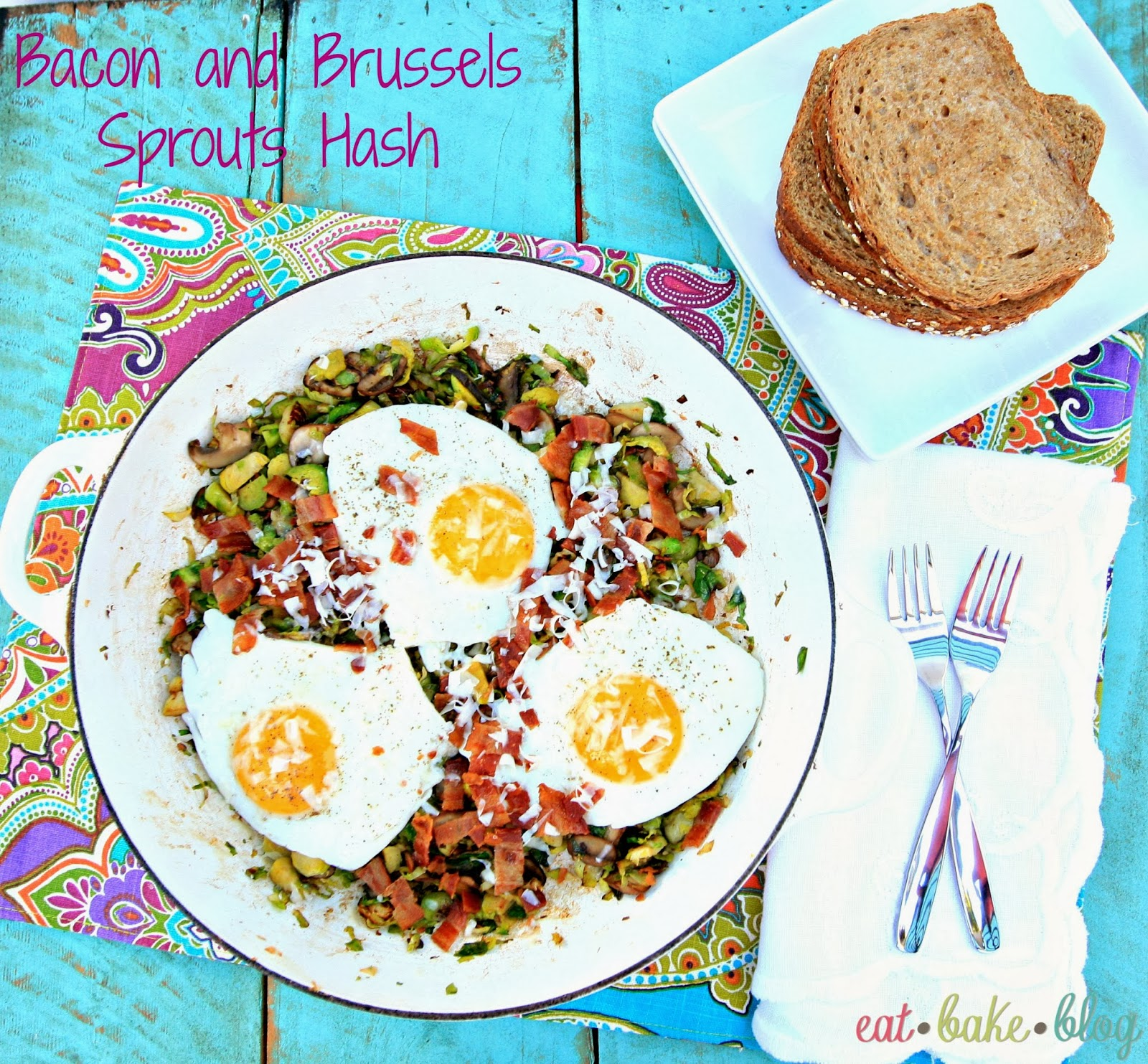 best brussels sprouts recipe bacon hash breakfast hash easy breakfast eggs