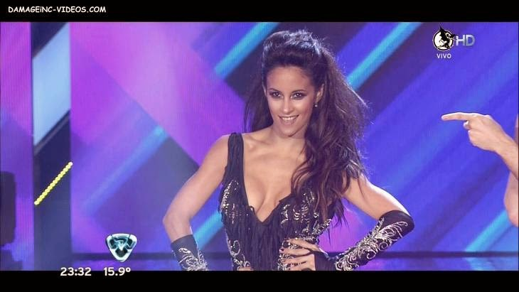 Lourdes Sanchez hot and deep cleavage HD video