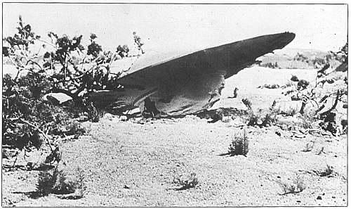 So könnte der ufo absturz in roswell ausgesehen haben