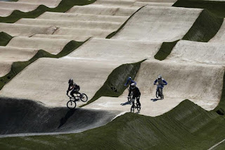 Circuito de ciclismo BMX