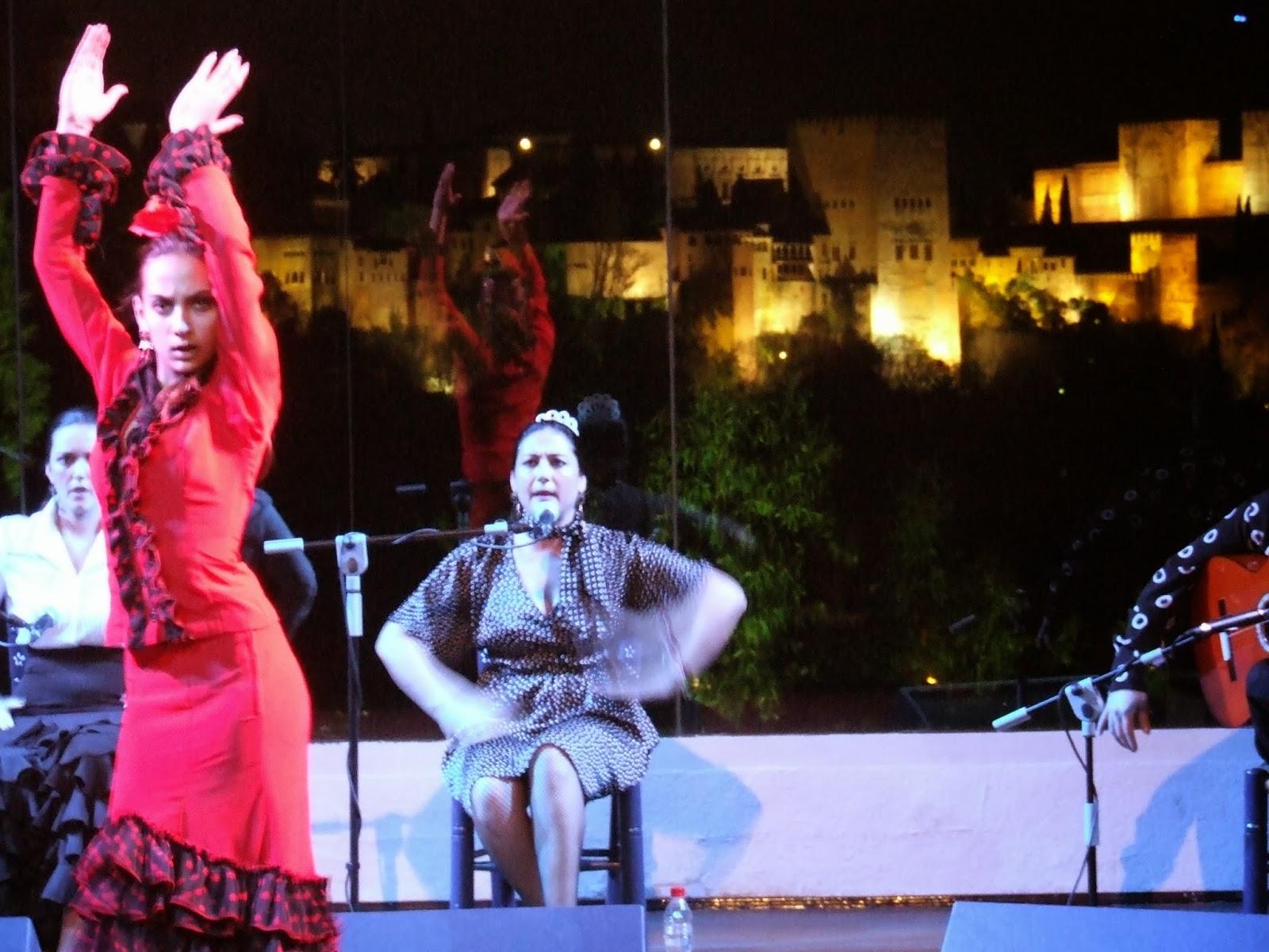 Flamenco In Teatro Municipal la Chumbera, Granada, Spain