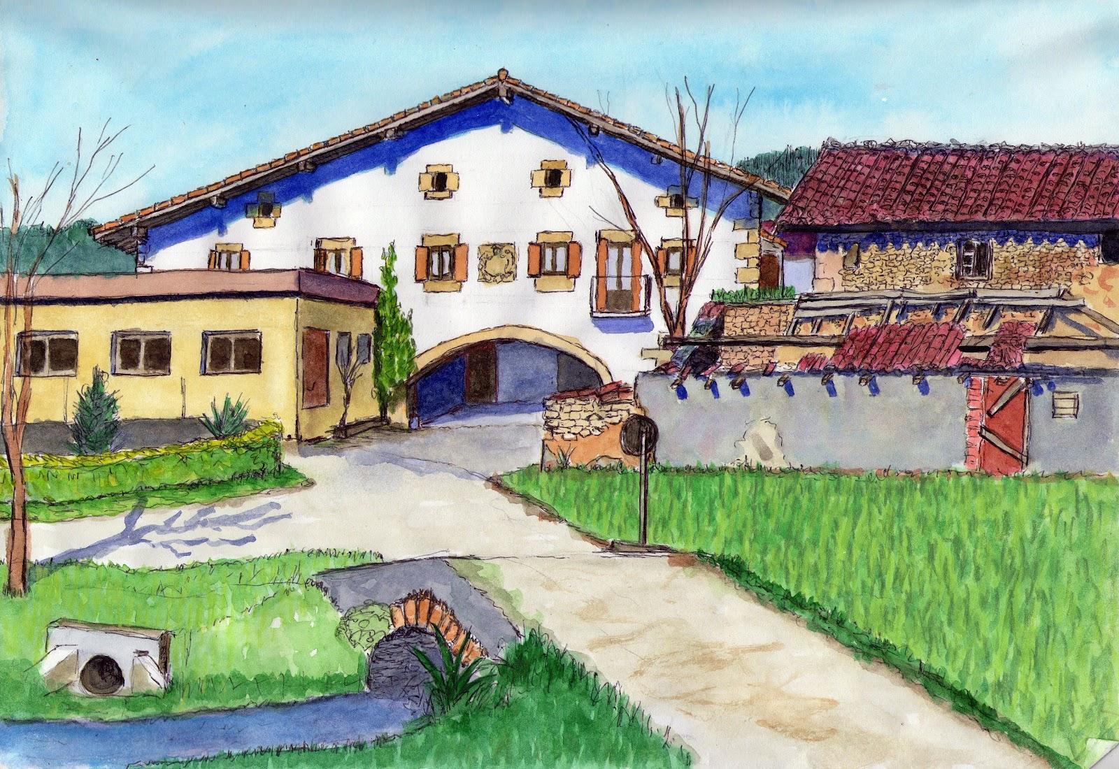 ART PASION Jess Montejo Rural Sketch en Zaldibar 2 parte