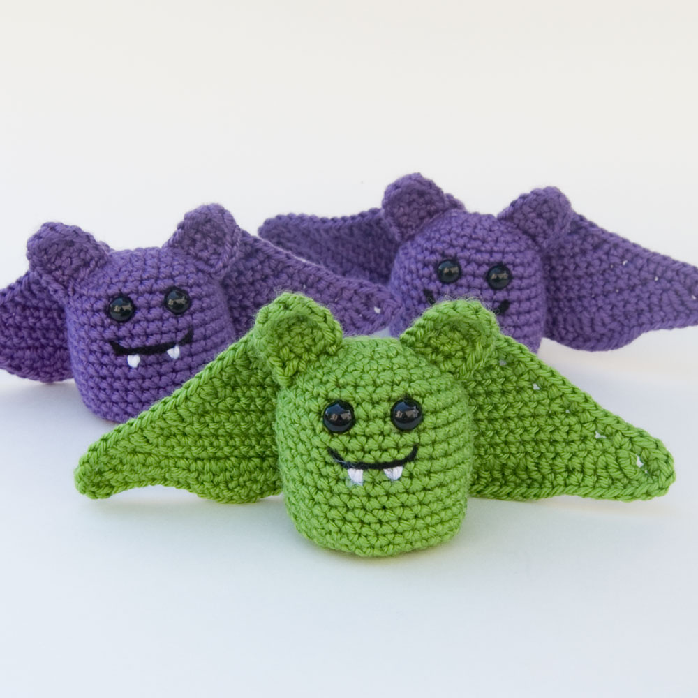 Crochet Amigurumi Spider : The Itsy Bitsy Spider Crochet: The Batties Are Here!