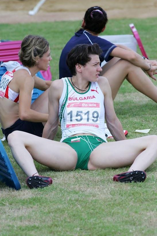 Atleta da Bulgária nas Olimpíadas de Londres 2012