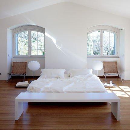 Decoraci n de habitaciones minimalistas decorar tu for Recamaras blancas modernas