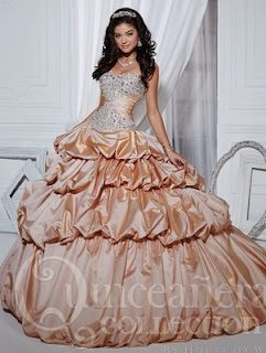 Amazing Ball Gown Dress with Ruffles by Quinceanera Collection