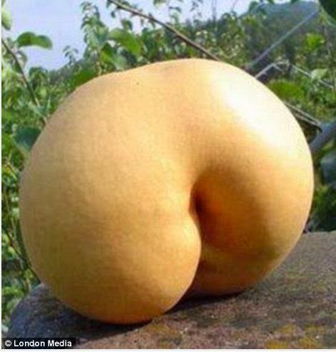 Frutas que se parecen al trasero Kim Kardashian
