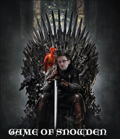 Edward Snowden Wacky Pictures - Game of Thrones