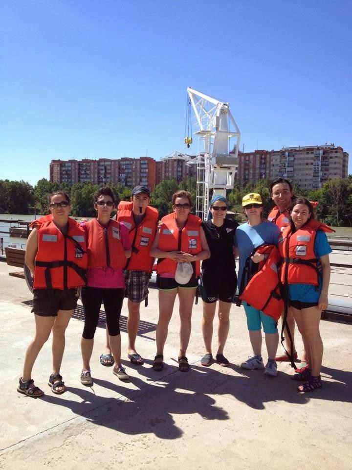 Club n utico zaragoza vecinos del barrio de las fuentes y de jaca en paseos con kayak - Club nautico zaragoza ...