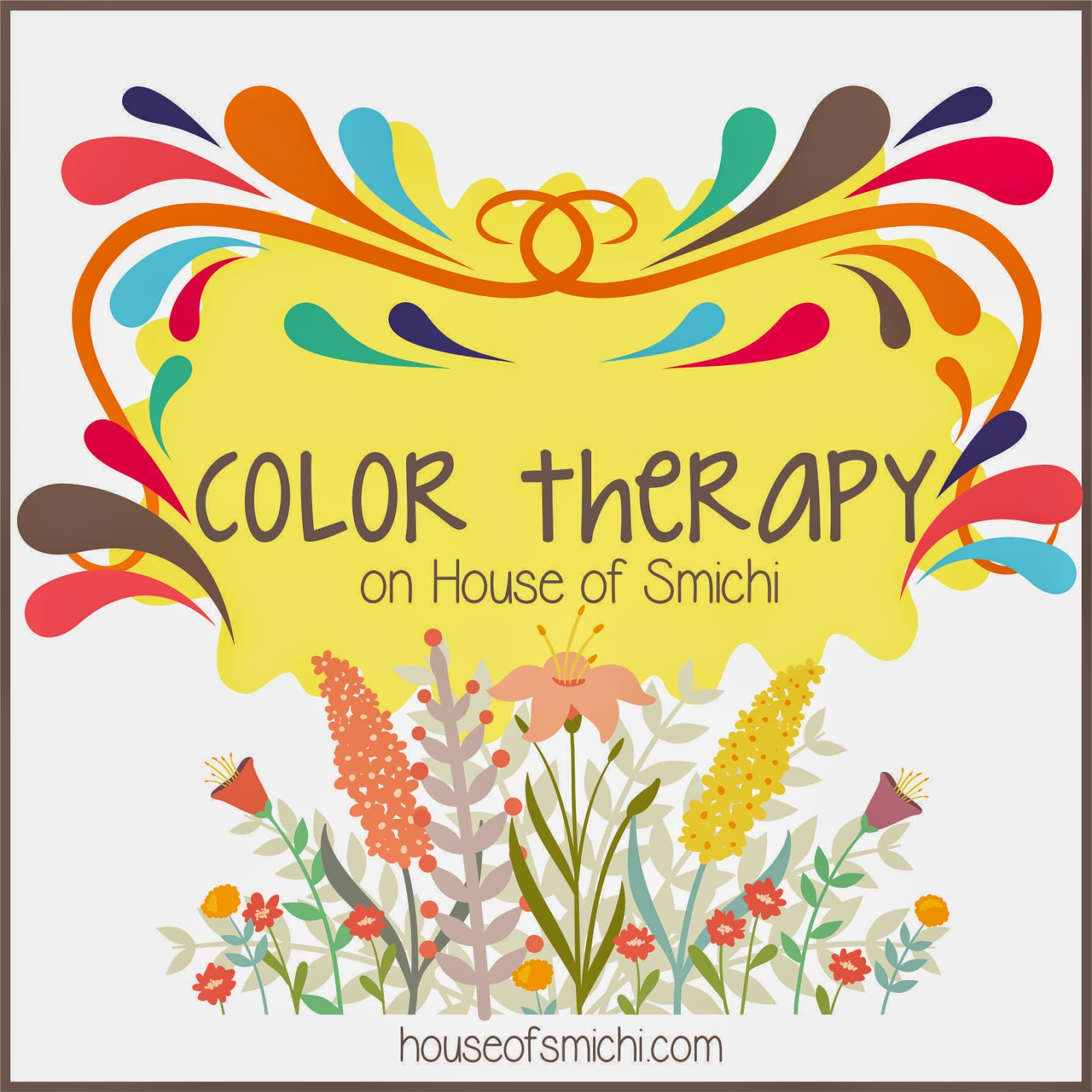 Color Therapy For Your Home: House Of Smichi: Color Therapy: Lime Green Orchid Color