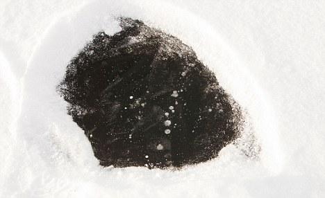 Arctique, la découverte inquiétante de véritables fontaines de méthane d'1 km de diamètre... Methane_photo