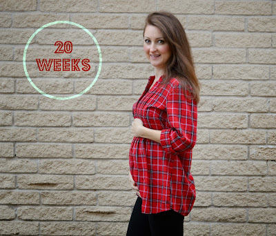 20 weeks pregnant blog bump date