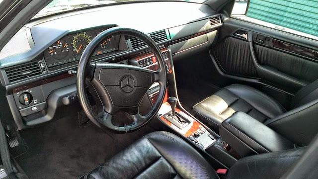 w124 leather interior