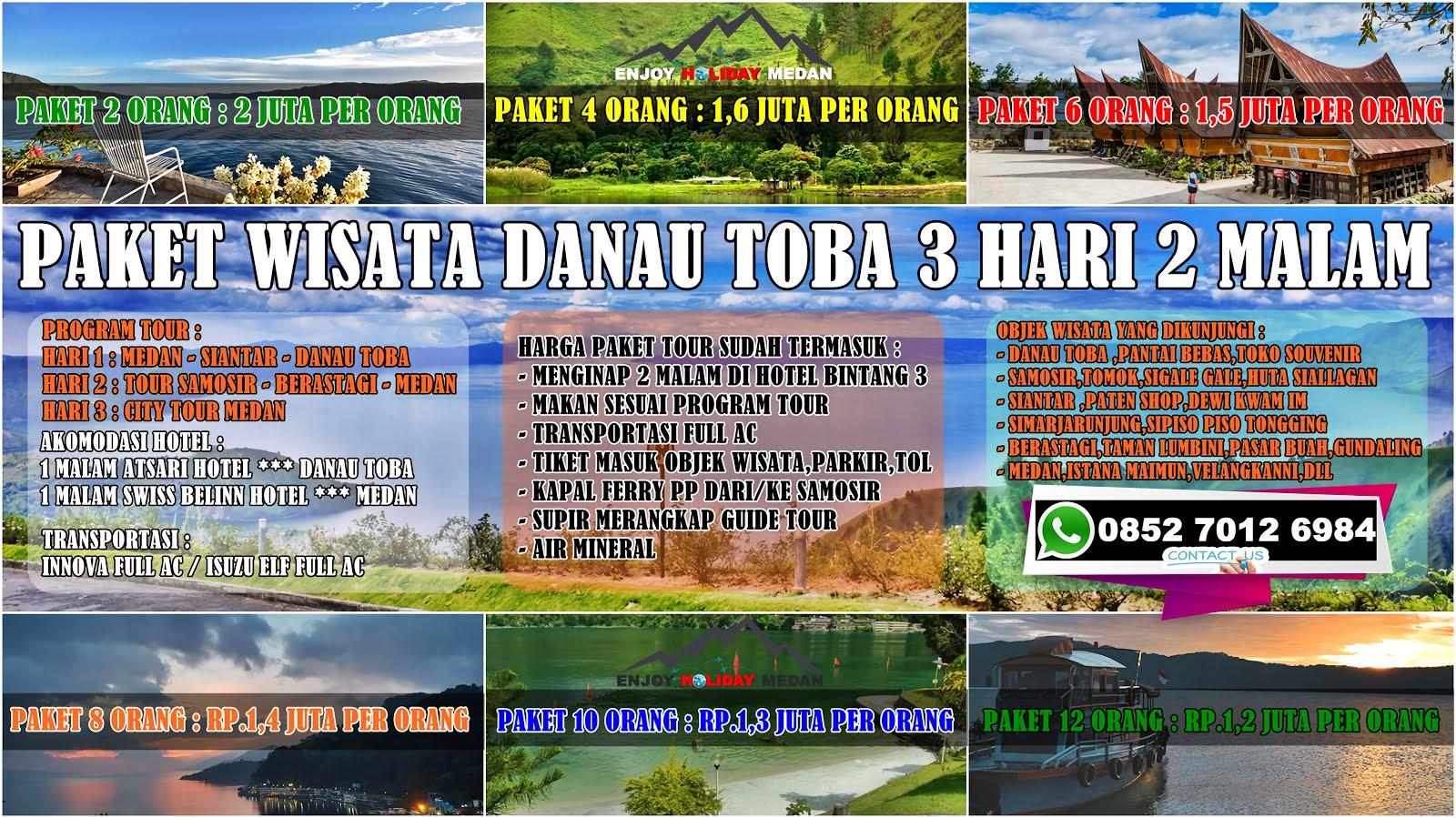 paket wisata danau toba 3 hari 2 malam