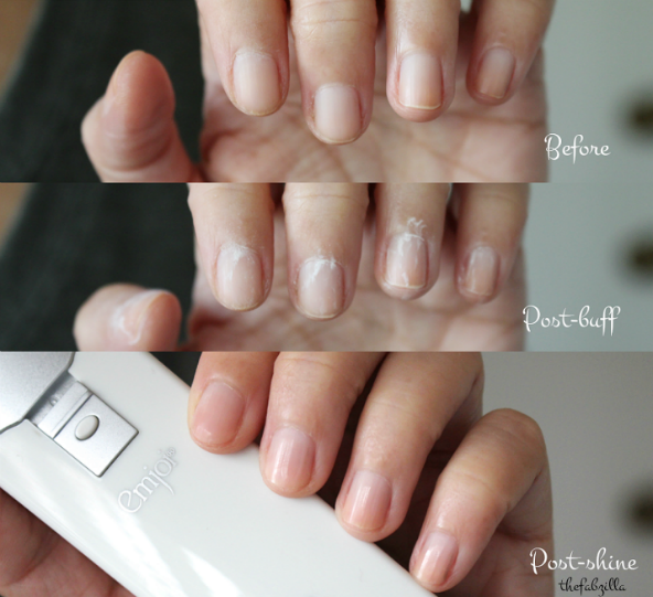 how to have strong nails, Emjoi Micro-Nail Buff and Shine Manicure Kit, Review