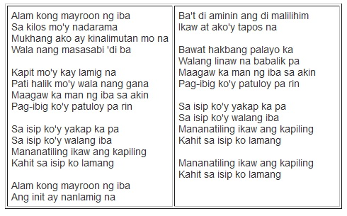Lyrics of Sa Isip Ko by Juris | Ina Kapatid Anak Theme Song/Soundtrack