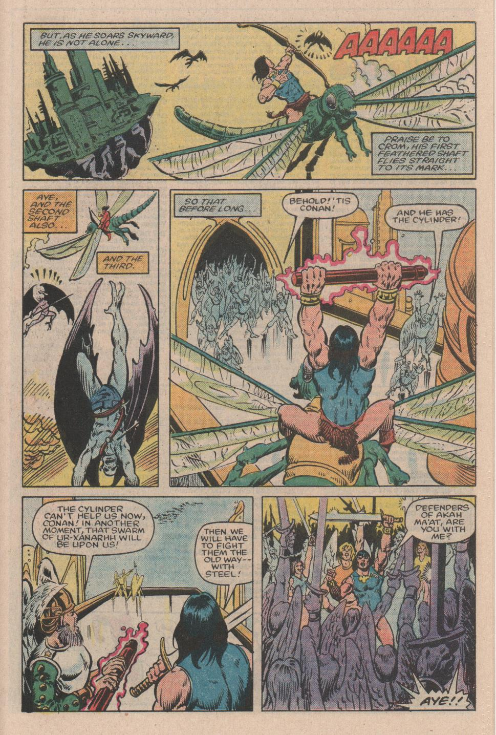 Conan the Barbarian (1970) Issue #154 #166 - English 20
