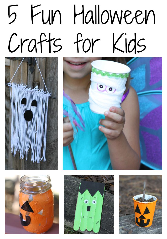 5 halloween crafts for kids really cute costume ideas - Preschool Halloween Crafts Ideas