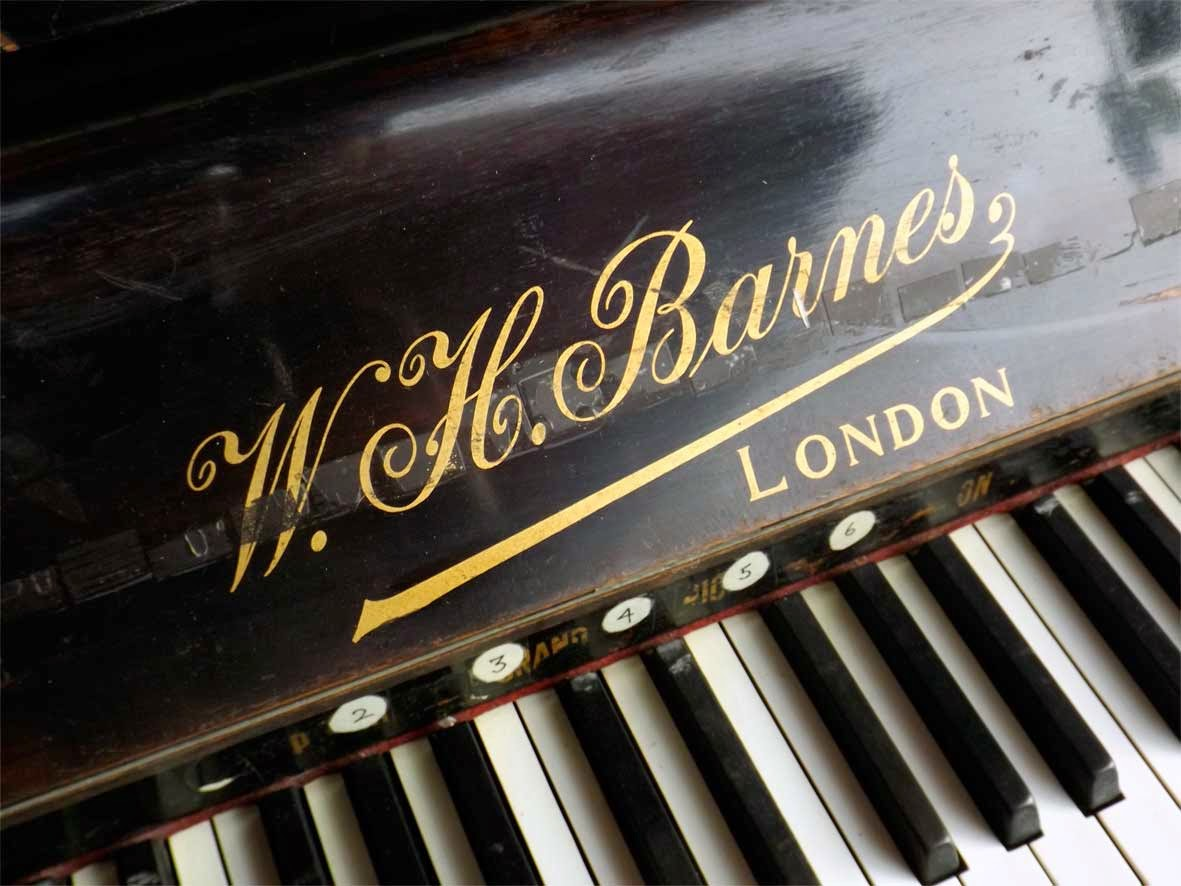 w h barnes piano london