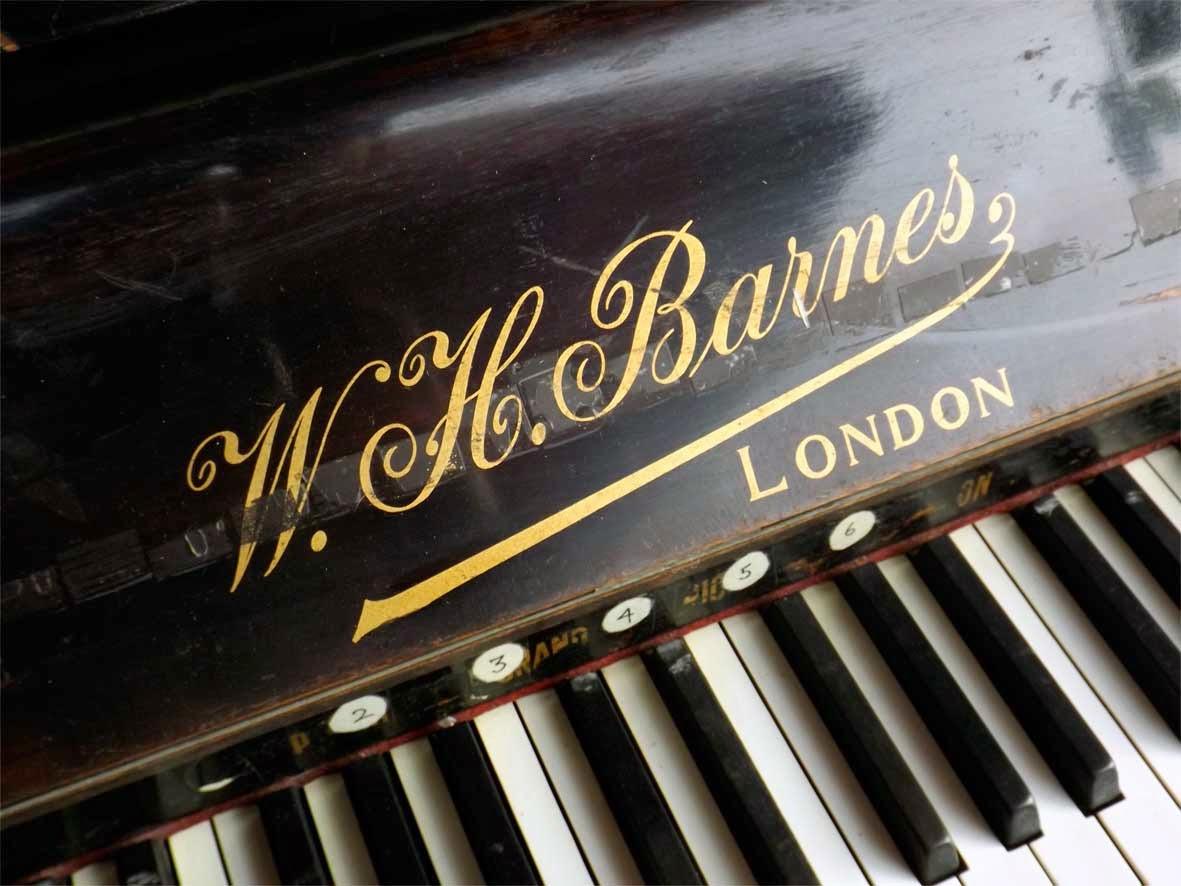 w h barnes piano london