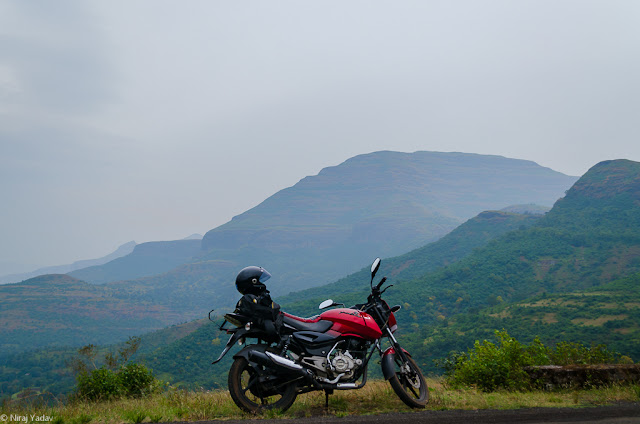 bike trip to Bhandardara