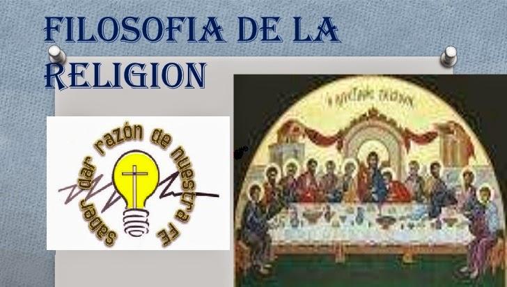 Filosofía de la religión.