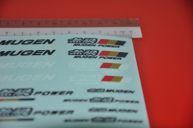 Mugen Power - Mini Sticker  vinyl 7