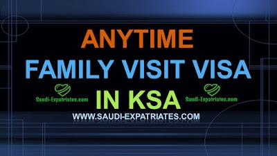 ANYTIME VISIT VISA IN KSA