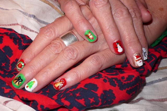 Christmas Nail Art Designs -34