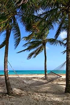 Cable Beach at Nassau---The Bahamas