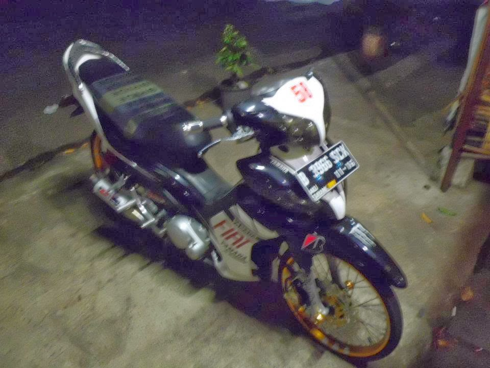 Gambar Modifikasi Motor Yamaha Jupiter Z