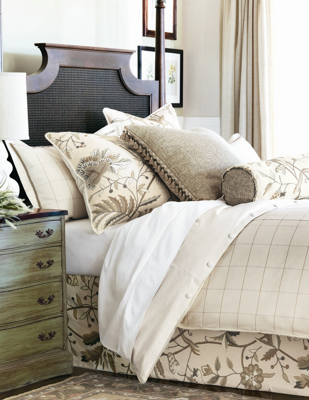 bedding pillows from the high point furniture market