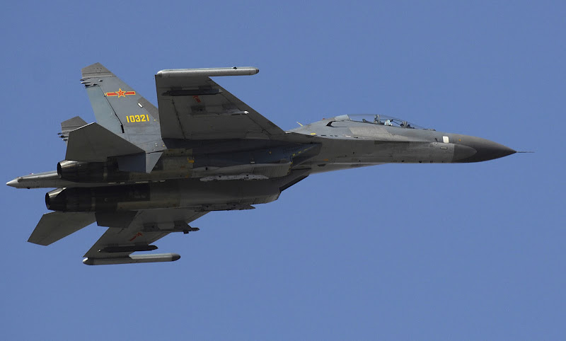 Jianjiji-11 Chinese 2-Engine Fighter Jet