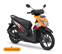 Honda BeAT FI CW Orange