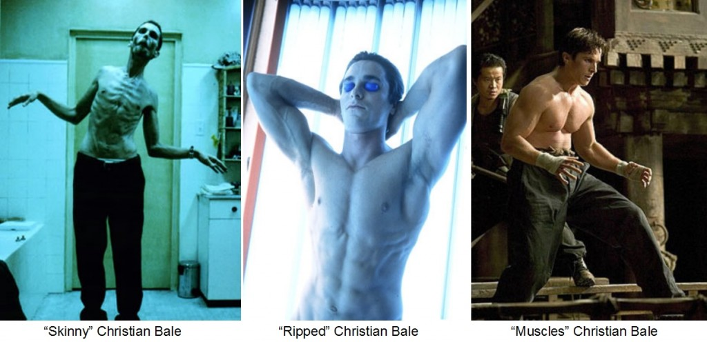 Christian Bale s Muscle Gains and Weight LossesChristian Bale Weight Loss And Gain