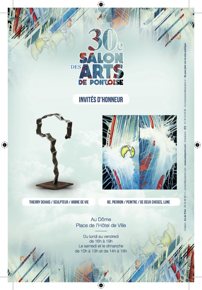 PONTOISE : CAPTON AU 30ÈME SALON DES ARTS
