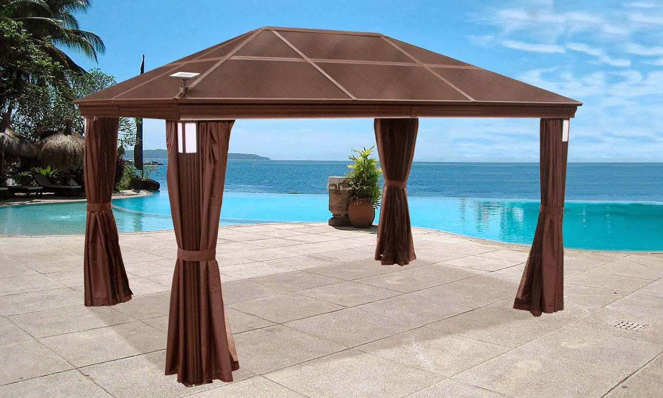 Gazebo curtains outdoor - A Shady Spot
