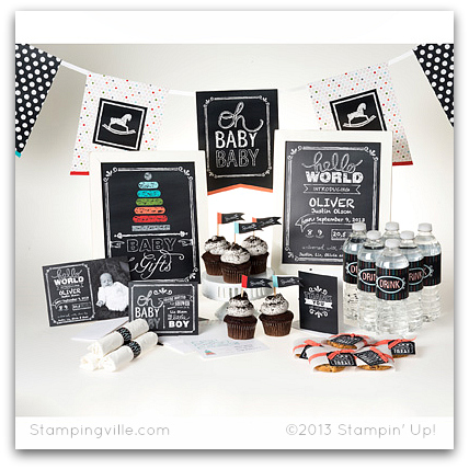 Stampin' Up! Hello World Ensemble Digital Download