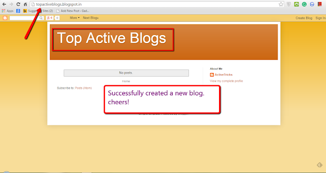 Ultimate look of the new blogger blog