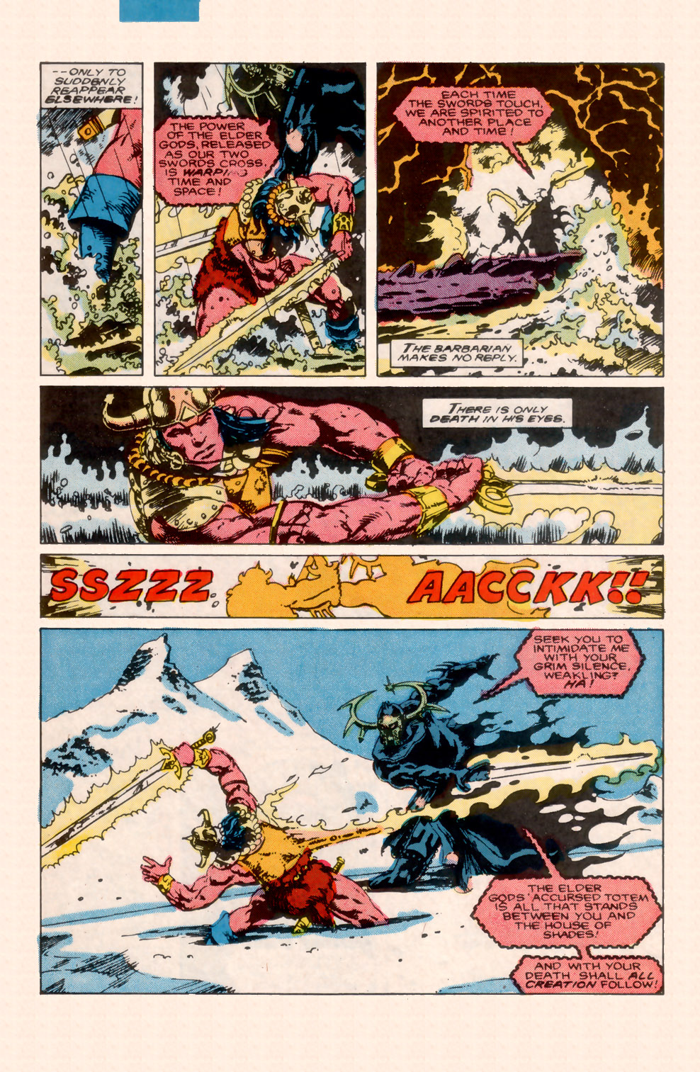 Conan the Barbarian (1970) Issue #200 #212 - English 33