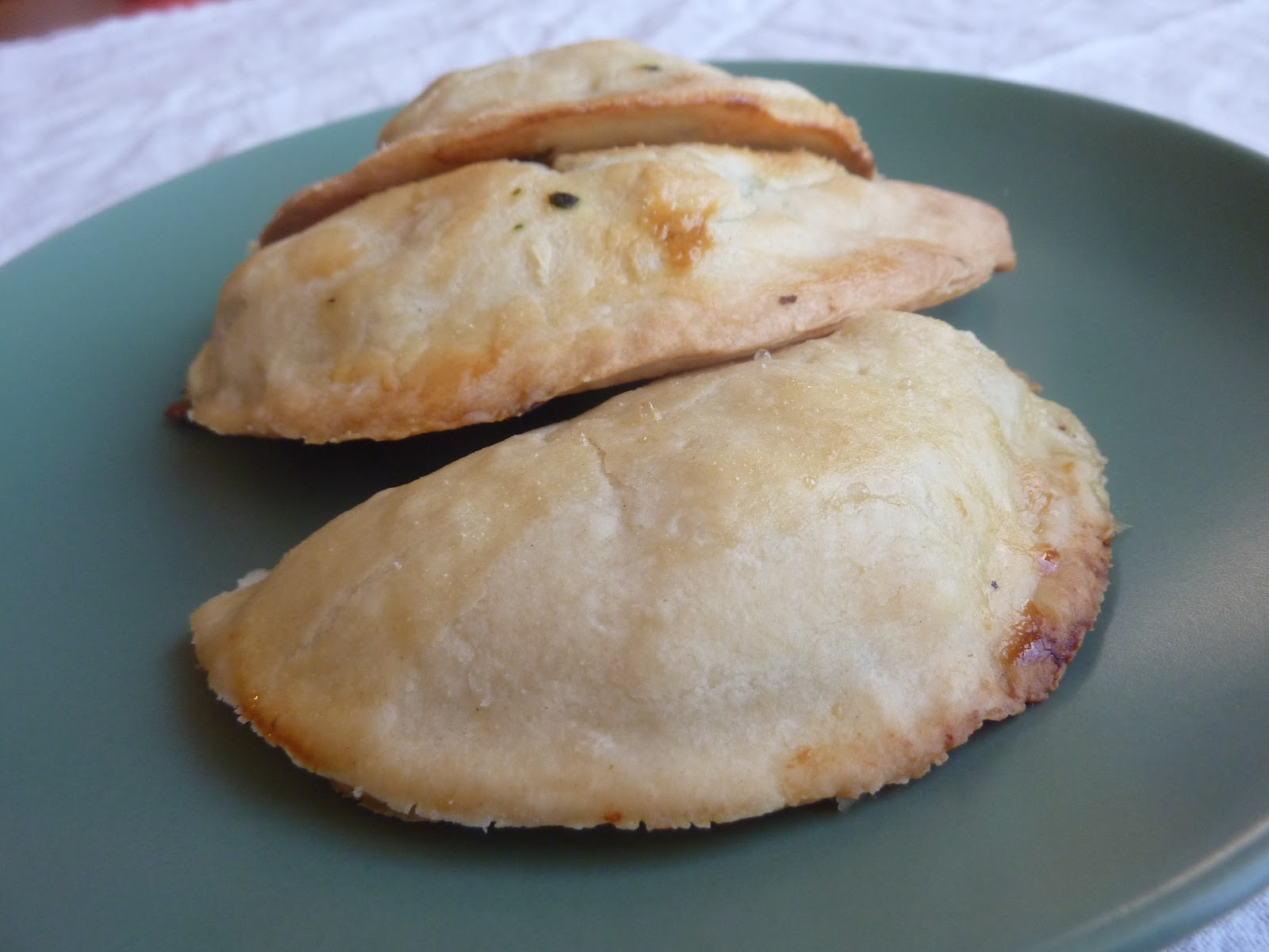 Savory Chicken Pocket Pies Recipe — Dishmaps