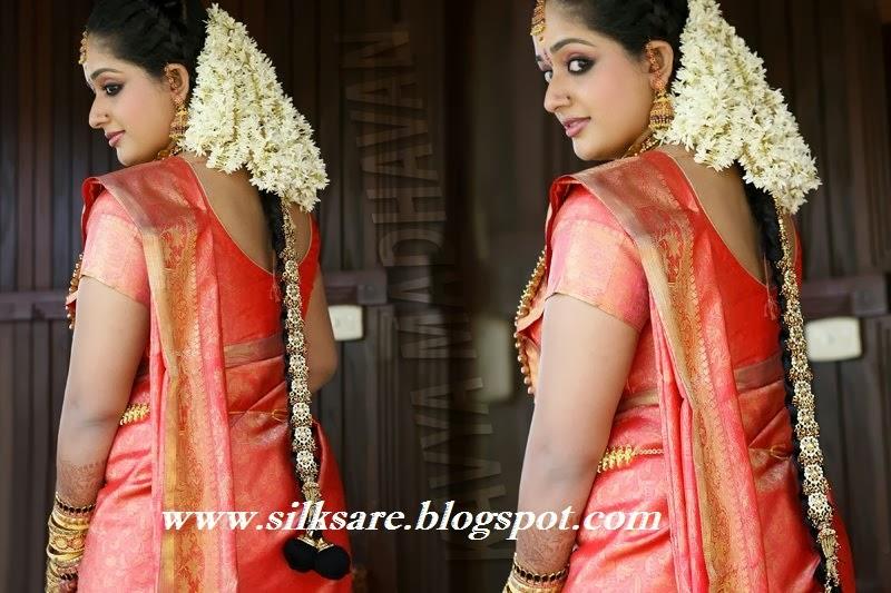 Bridal Hairstyles For Long Hair Kerala : INDIAN WEDDING SILK SAREE JEWELLERY WEDDING HAIR STYLE KERALA WEDDING