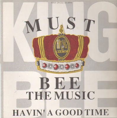 King Bee – Must Bee The Music / Havin' A Good Time (CDS) (1990) (192 kbps)