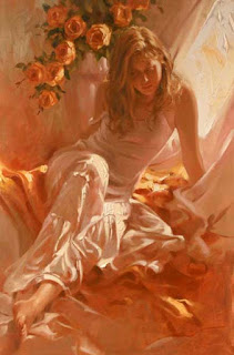 Ochre and light, Richard S. Johnson
